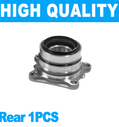 details about 1pcs rear wheel hub bearing assembly for toyota toyota rav4 96 00 awd fwd [ 1100 x 1100 Pixel ]