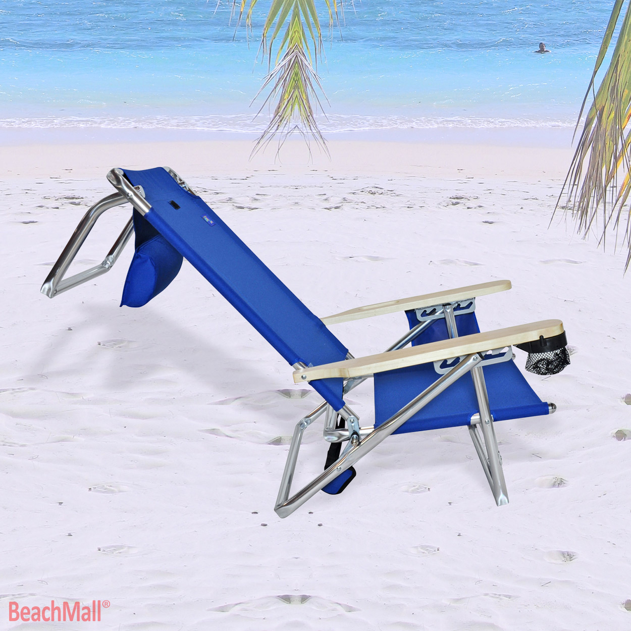 lay flat beach chair rocking covers for christmas 5 position platinum extra tall back