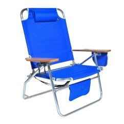 Big Camping Chair Ergonomic Cervical Support Jumbo Heavy Duty 500 Lbs Xl Aluminum Beach For