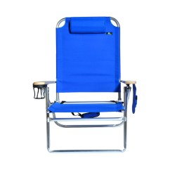 Beach Chairs With Cup Holders Big Joe Bean Bag Chair Camo Extra Large High Seat Heavy Duty 4 Position