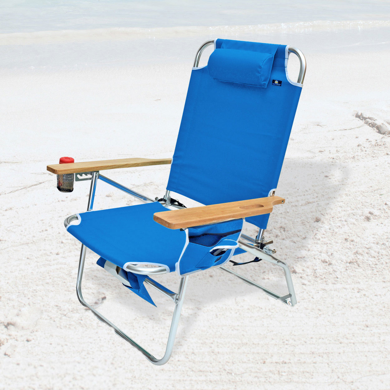 Ostrich 3 In 1 Beach Chair Big Jumbo Heavy Duty 500 Lbs Xl Aluminum Beach Chair For