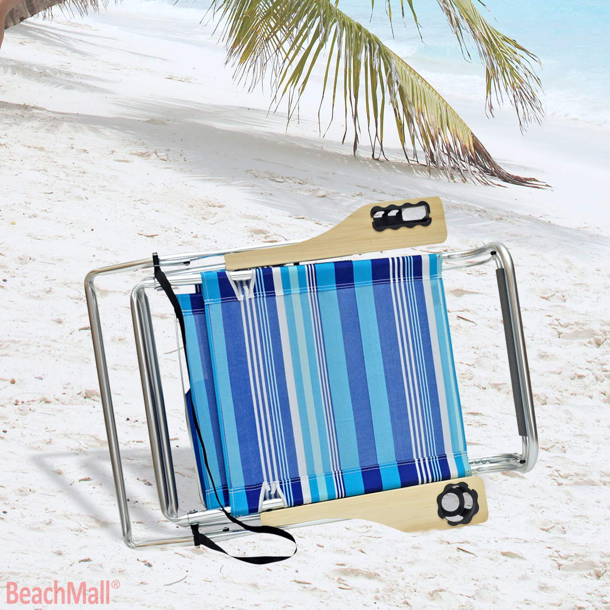 hi boy beach chair with canopy sleeping recliner deluxe 4 position aluminum w and storage