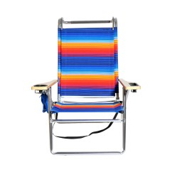 Hi Boy Beach Chair With Canopy Homedics Back Massager Deluxe 4 Position Aluminum W And Storage