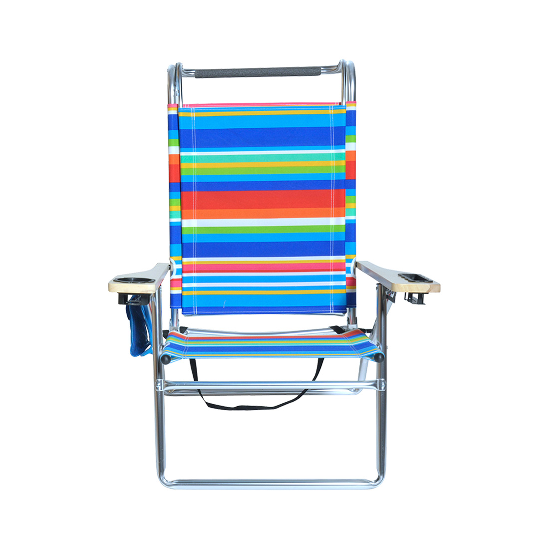hi boy beach chair with canopy vintage mcguire chairs deluxe 4 position aluminum w and storage