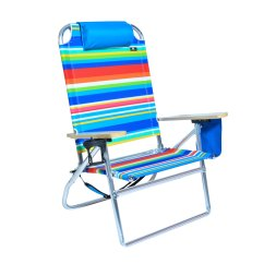Beach Chairs With Cup Holders Desk Chair Wood Extra Large High Seat Heavy Duty 4 Position