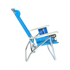 Beach Chairs With Cup Holders Wooden Card Table And Extra Large High Seat Heavy Duty 4 Position Chair