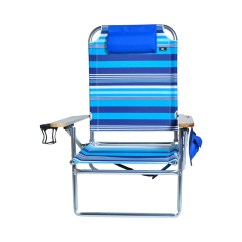 Beach Chairs With Cup Holders High Argos Extra Large Seat Heavy Duty 4 Position Chair
