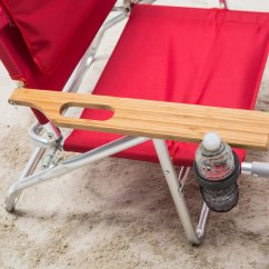 Padded Beach Chair Posture Office Stool Ostrich 3 N 1 Lounger With Side Tray Ebay