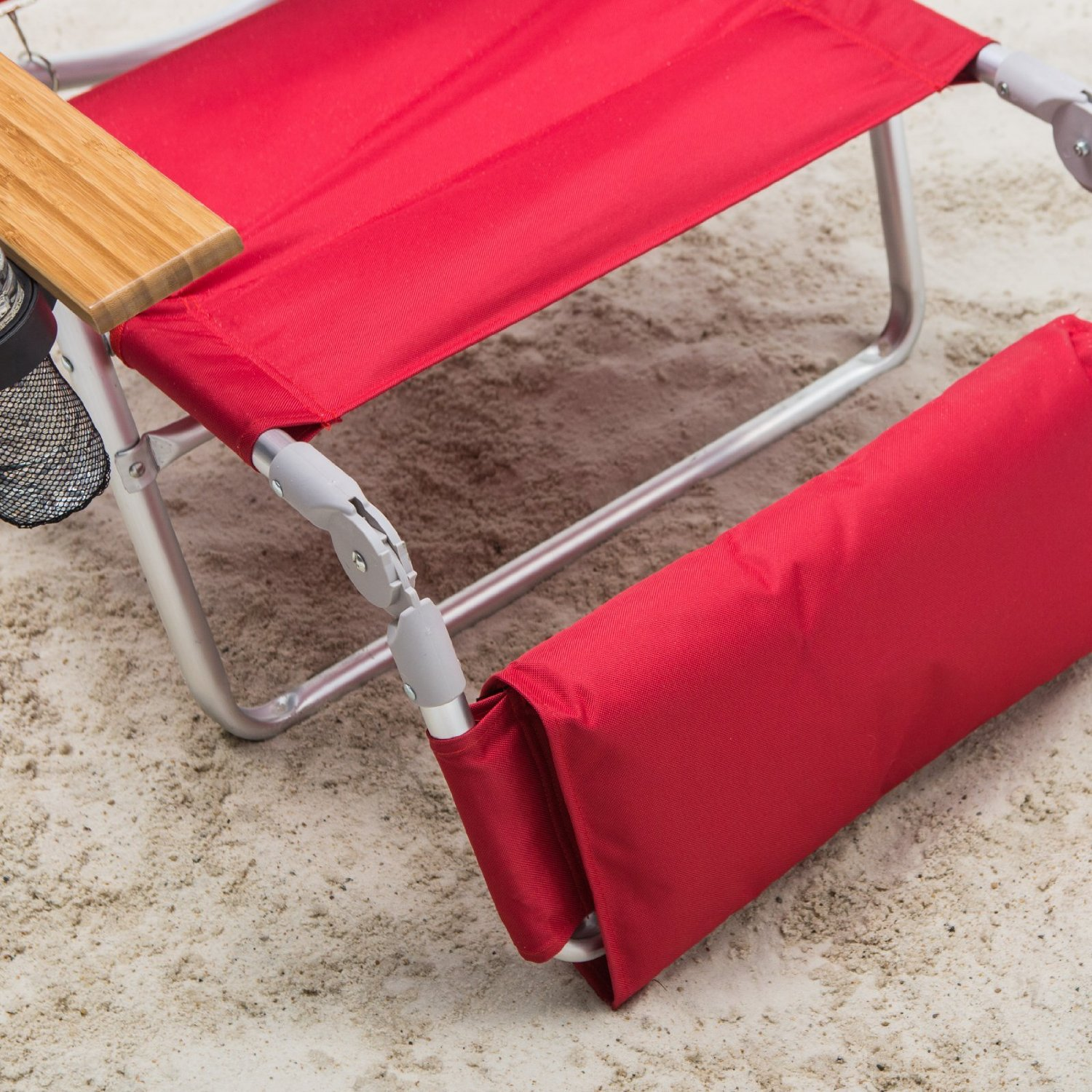 padded beach chair retro metal outdoor chairs ostrich 3 n 1 lounger with side tray ebay