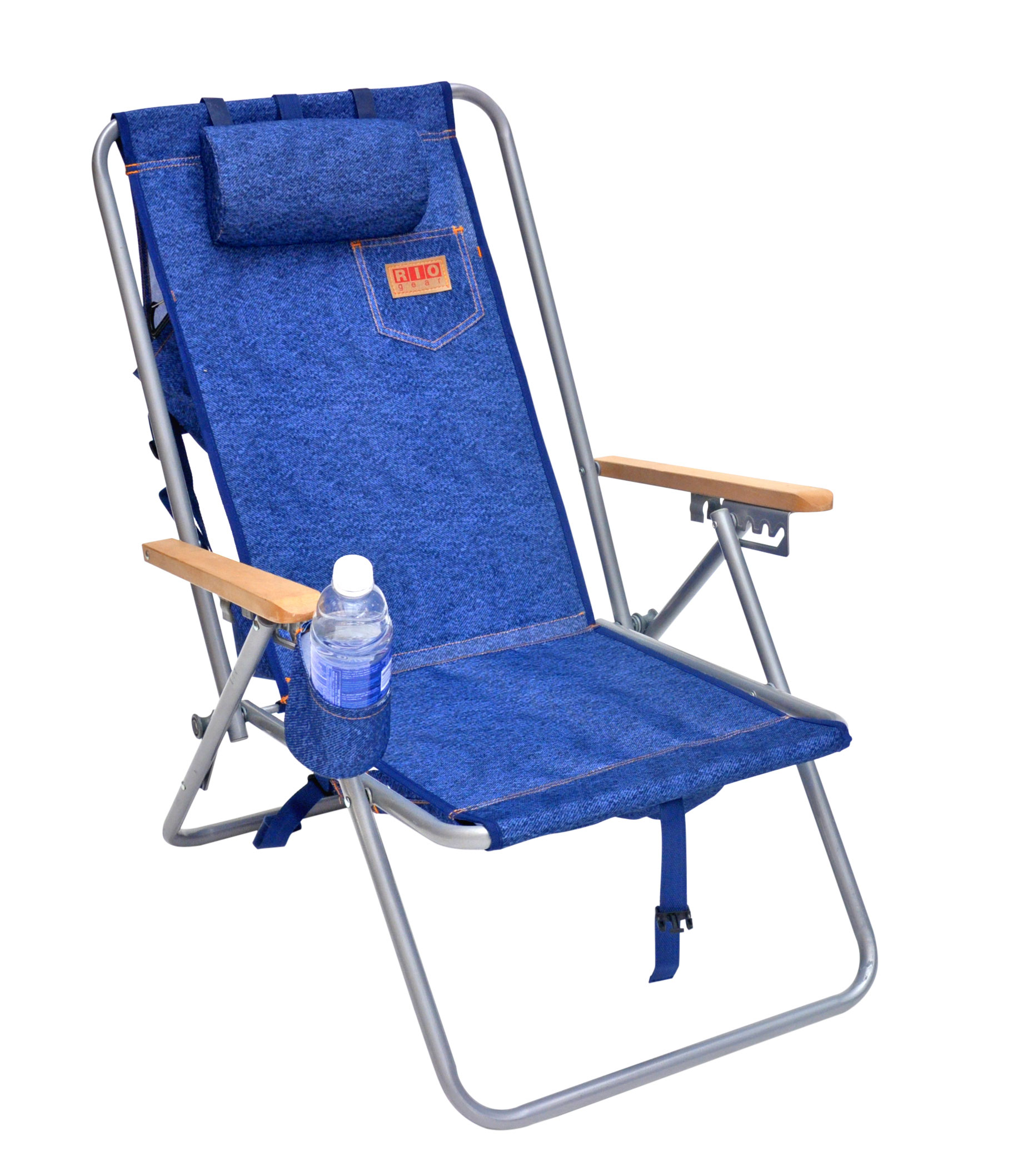 HiBack Deluxe Steel Backpack Chair with Storage Pouch  eBay