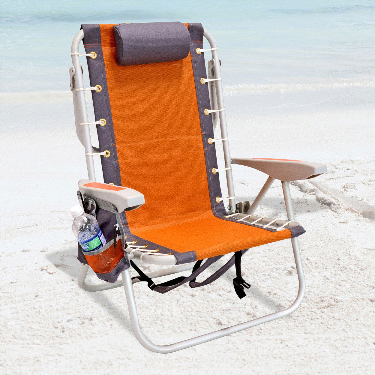 lay flat beach chair purple accent chairs sale rio 5 pos layflat ultimate backpack w cooler