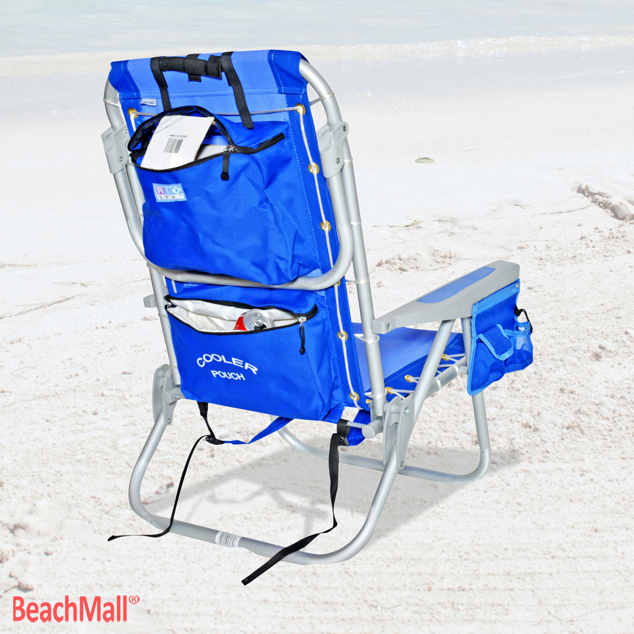 Chair Cooler Rio 5 Pos Layflat Ultimate Backpack Beach Chair W Cooler