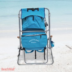 Backpack Cooler Beach Chair Camping Chairs That Fold Up Small Rio Deluxe 5 Position Layflat W Insulated