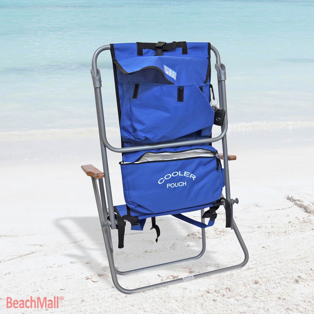 Chair Cooler Rio Deluxe 5 Position Layflat Backpack Chair W Insulated