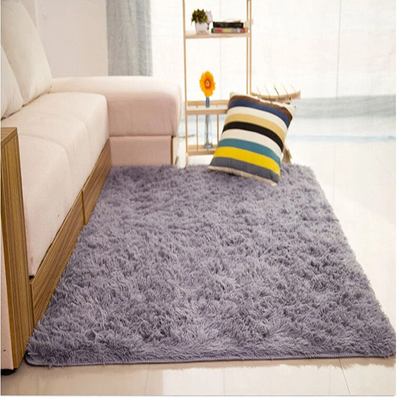 Comfy Fluffy Rugs AntiSkid Area Rug Dining Room Carpet Home Bedroom Floor Mat  eBay
