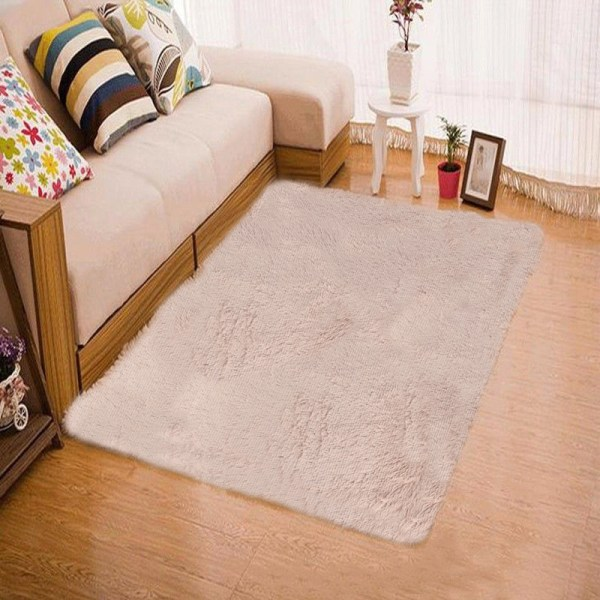 fluffy bedroom rugs Fluffy Rugs Anti-Skid Shaggy Area Rug Home Living Room