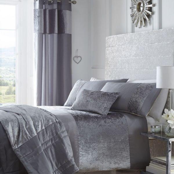 Portofino - Luxury Crushed Velvet Duvet Bedding Set