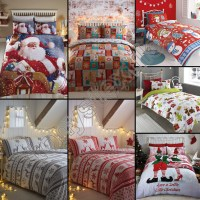 Super King Christmas Bedding Set ~ Tokida for