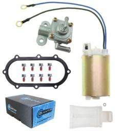 details about fuel pump for suzuki 1997 2000 gsxr 600 srad rebuild kit petcock gasket strainer [ 2002 x 2002 Pixel ]