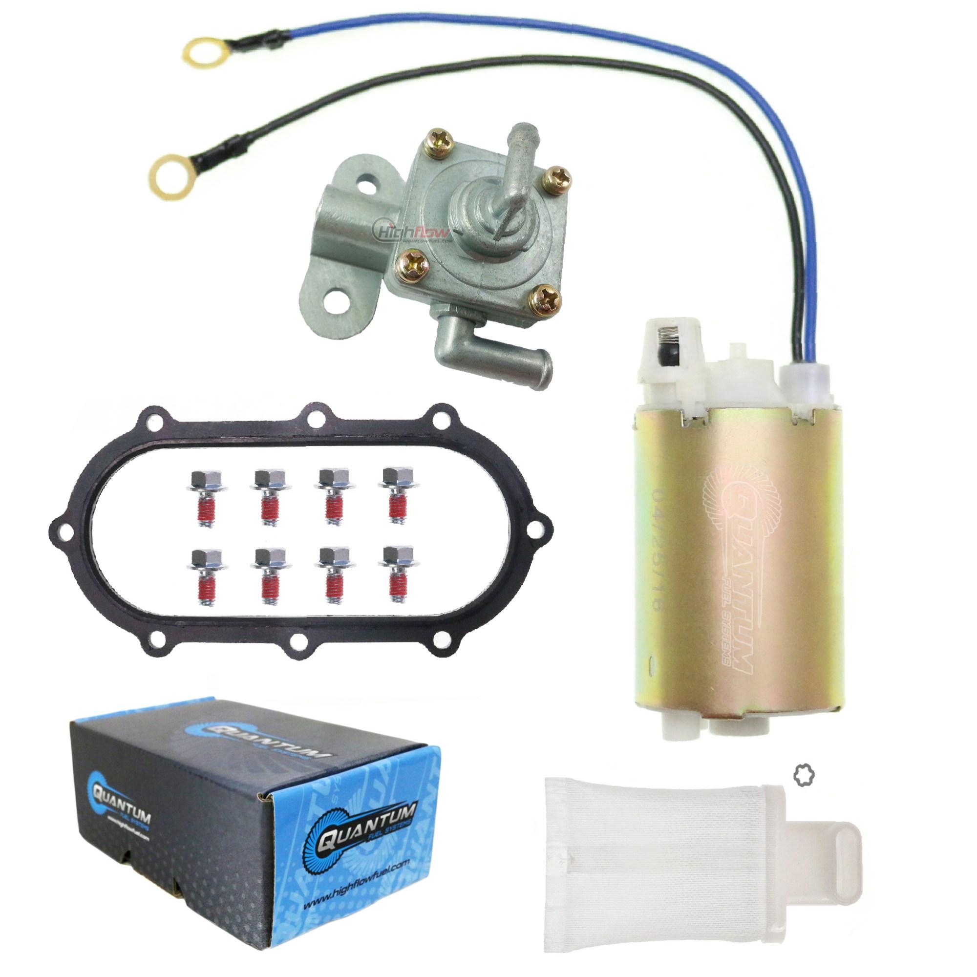 hight resolution of details about fuel pump for suzuki 1997 2000 gsxr 600 srad rebuild kit petcock gasket strainer