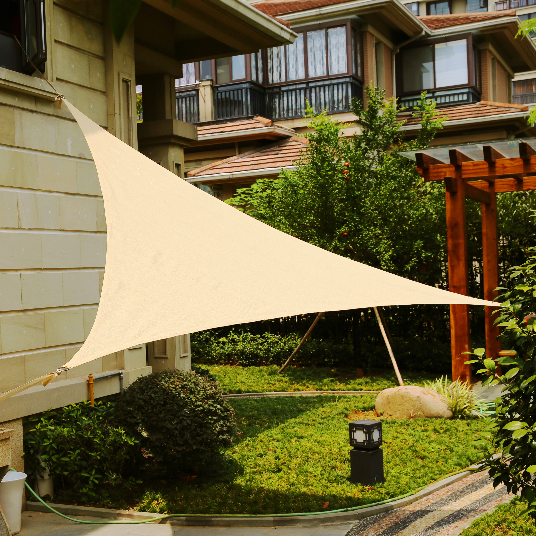 LyShade 12' Triangle Sun Shade Sail Canopy