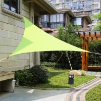 """LyShade 16'5"""" Triangle Sun Shade Sail Canopy"""