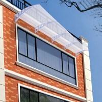 1m/2m One-piece Window Door Awning Outdoor UV Rain Cover ...