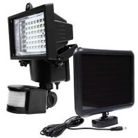 LED Solar Powered Motion Sensor Security Flood Light ...