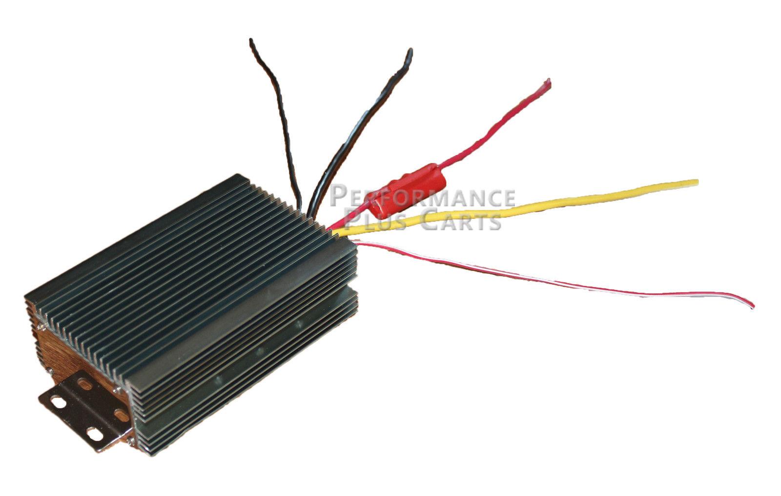 36 volt 2008 toyota hilux workmate wiring diagram golf cart voltage reducer 25 amp 48v to 12v for both