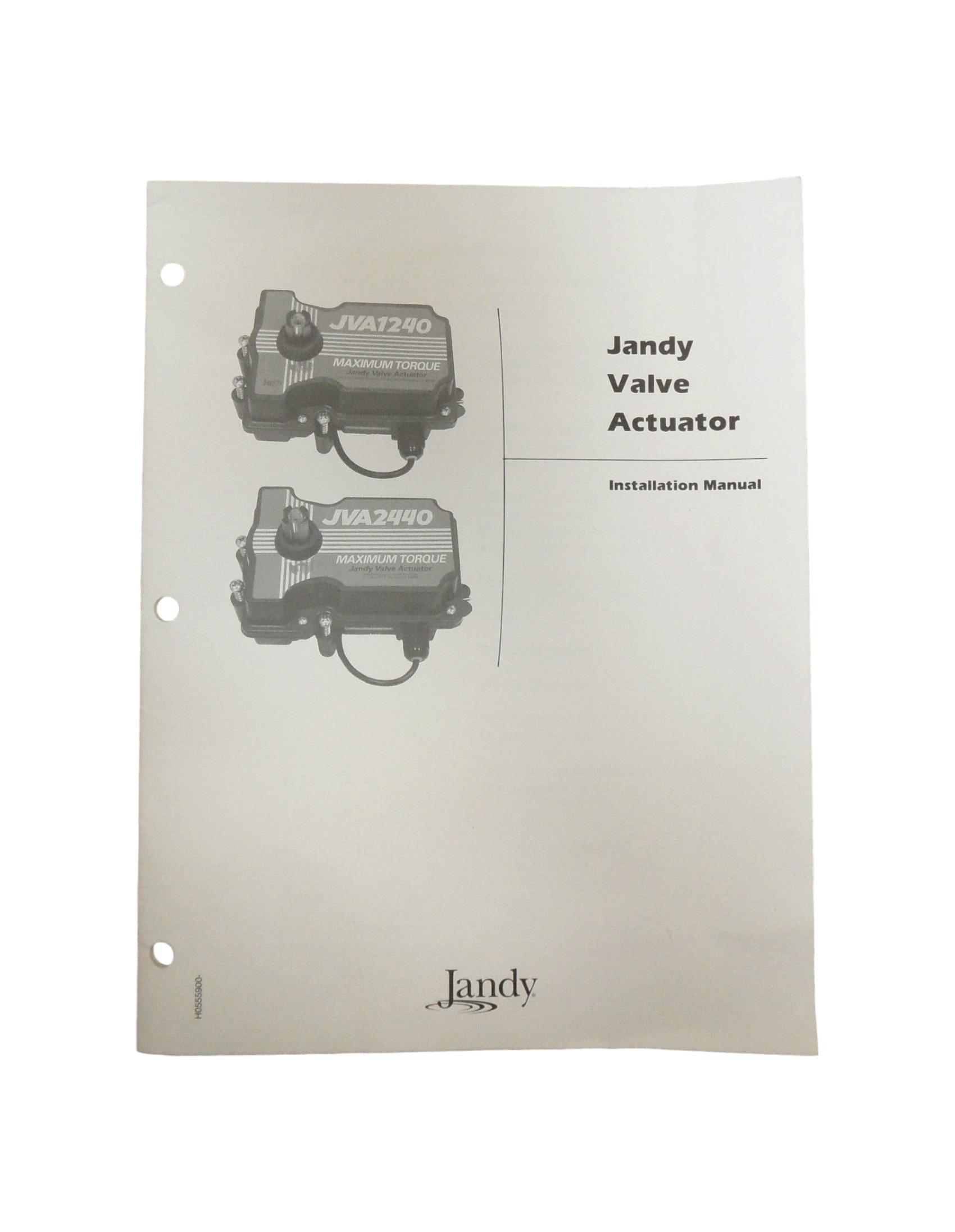 hight resolution of jandy jva1240jva2440 valve actuator installation owners manual