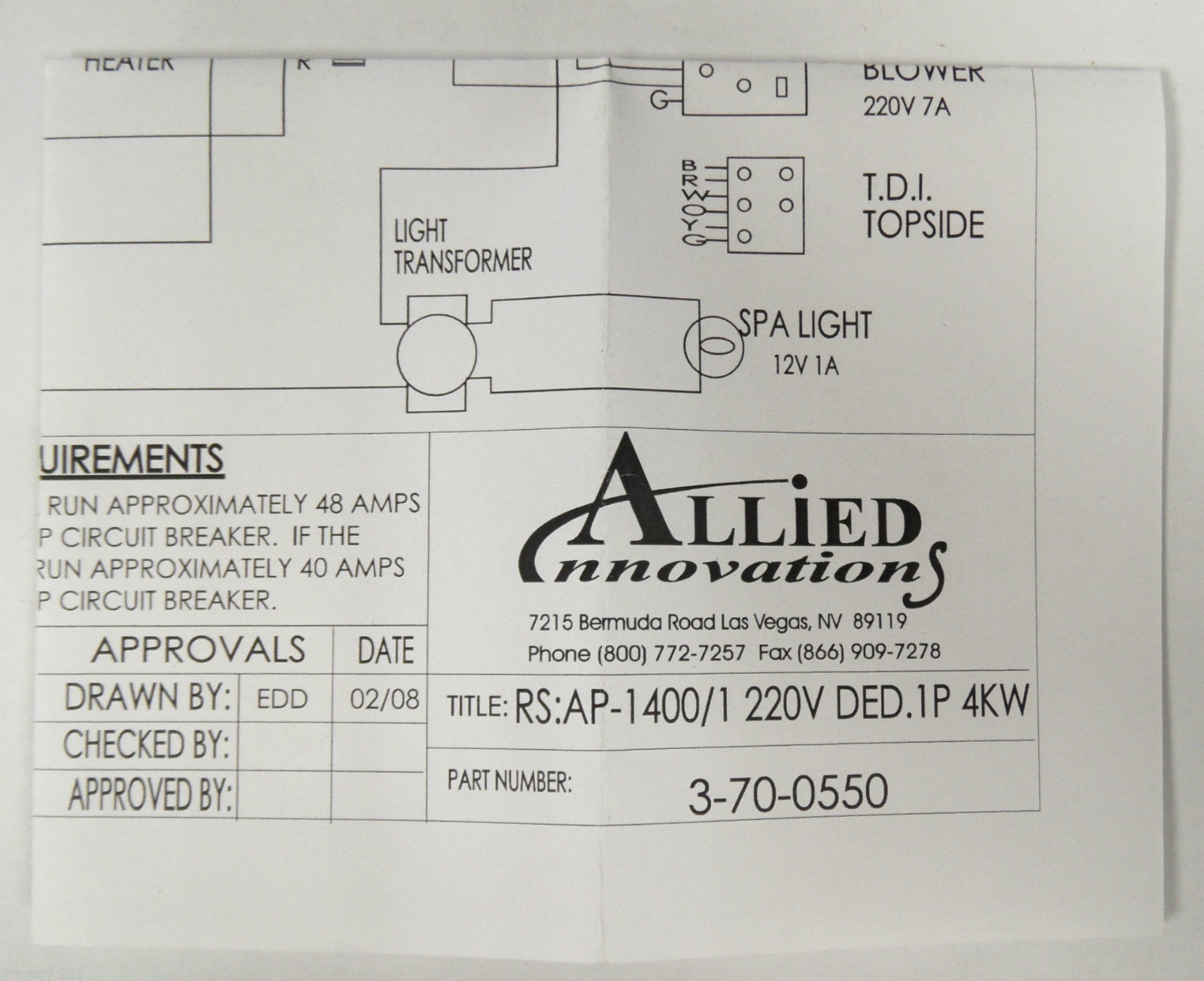 hight resolution of bermuda spa wiring diagram schema wiring diagramsallied innovations 3 70 0550 wiring diagram ap 1400 rs