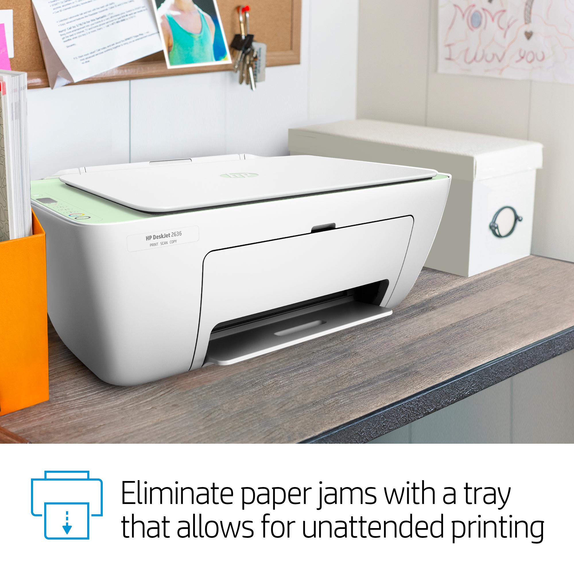 HP DeskJet 2636 Wireless All-in-One Color Inkjet Printer w/ HP Smart App. Gelato   eBay