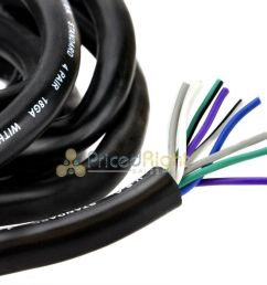 20 ft 18 awg gauge 9 conductor speed wire speaker trailer copper stranded cable [ 1280 x 848 Pixel ]