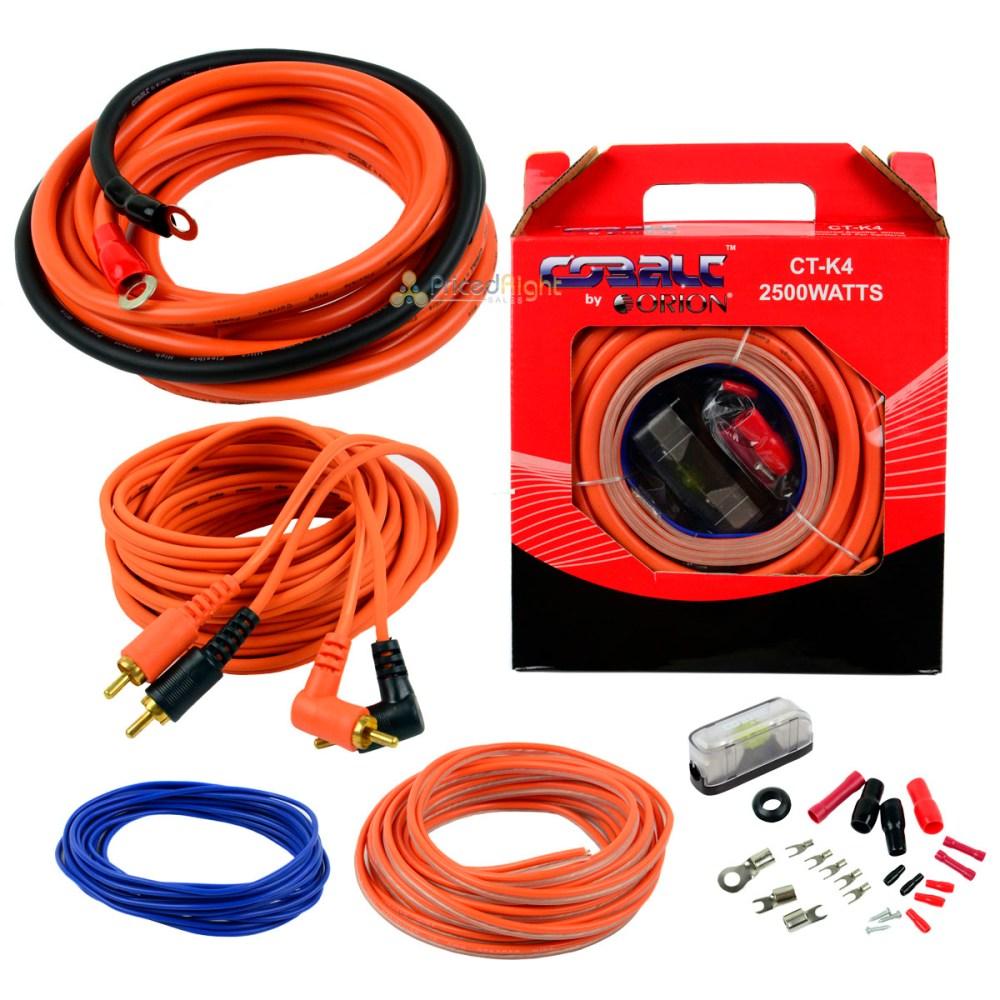 medium resolution of orion 4 gauge amp kit amplifier install wiring installation power wire complete