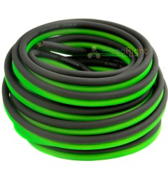 true 0 gauge amp kit green 5 farad capacitor complete amplifier wiring package [ 1200 x 1200 Pixel ]