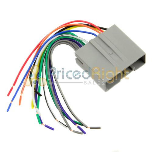 small resolution of details about ford lincoln mercury radio install wire harness installation fd 5520