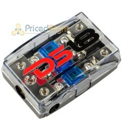 ds18 mini anl fuse holder 0 4 8 gauge input output fd1024 distribution block [ 1600 x 1600 Pixel ]