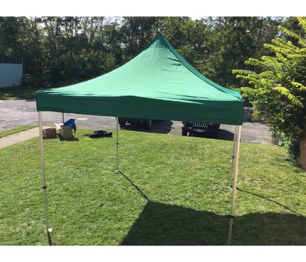 10x10' Pop Canopy Tent Commercial Waterproof Event Gazebo 5 Height Setting