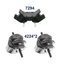 details about for 93 97 lexus gs300 3 0l set 3 engine motor trans mount 4224 4224 7294 m1295 [ 1600 x 1600 Pixel ]