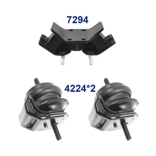 small resolution of details about for 93 97 lexus gs300 3 0l set 3 engine motor trans mount 4224 4224 7294 m1295