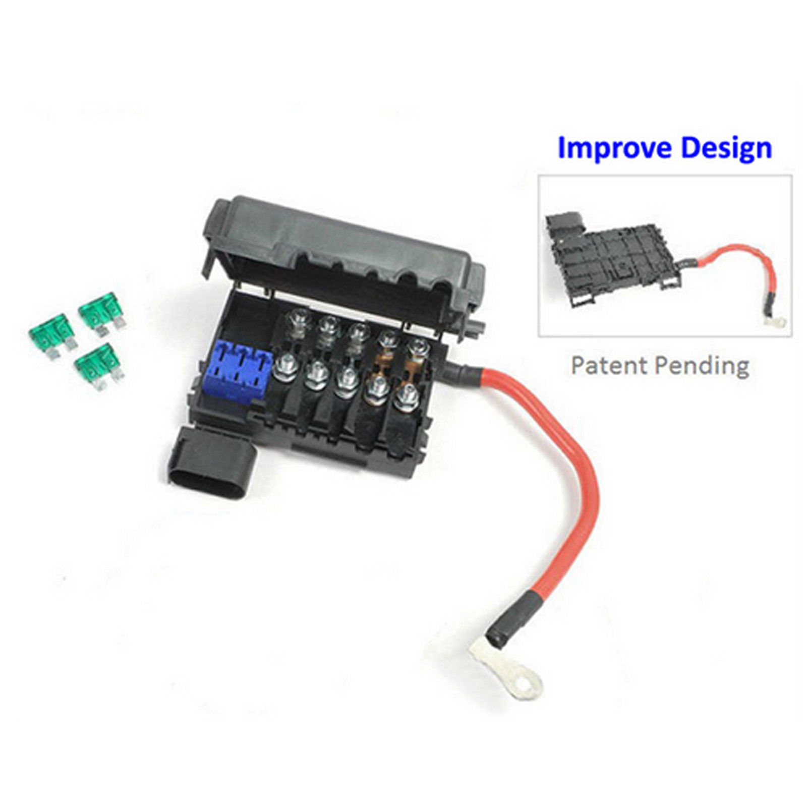 hight resolution of details about no more breaking for vw jetta golf beetle 1 8l 2 0l fuse box 1c0937617 nbc061c