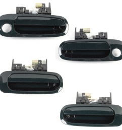 details about for 98 02 toyota corolla chevrolet prizm outside door handle f r green 6r1 ds318 [ 1900 x 1900 Pixel ]