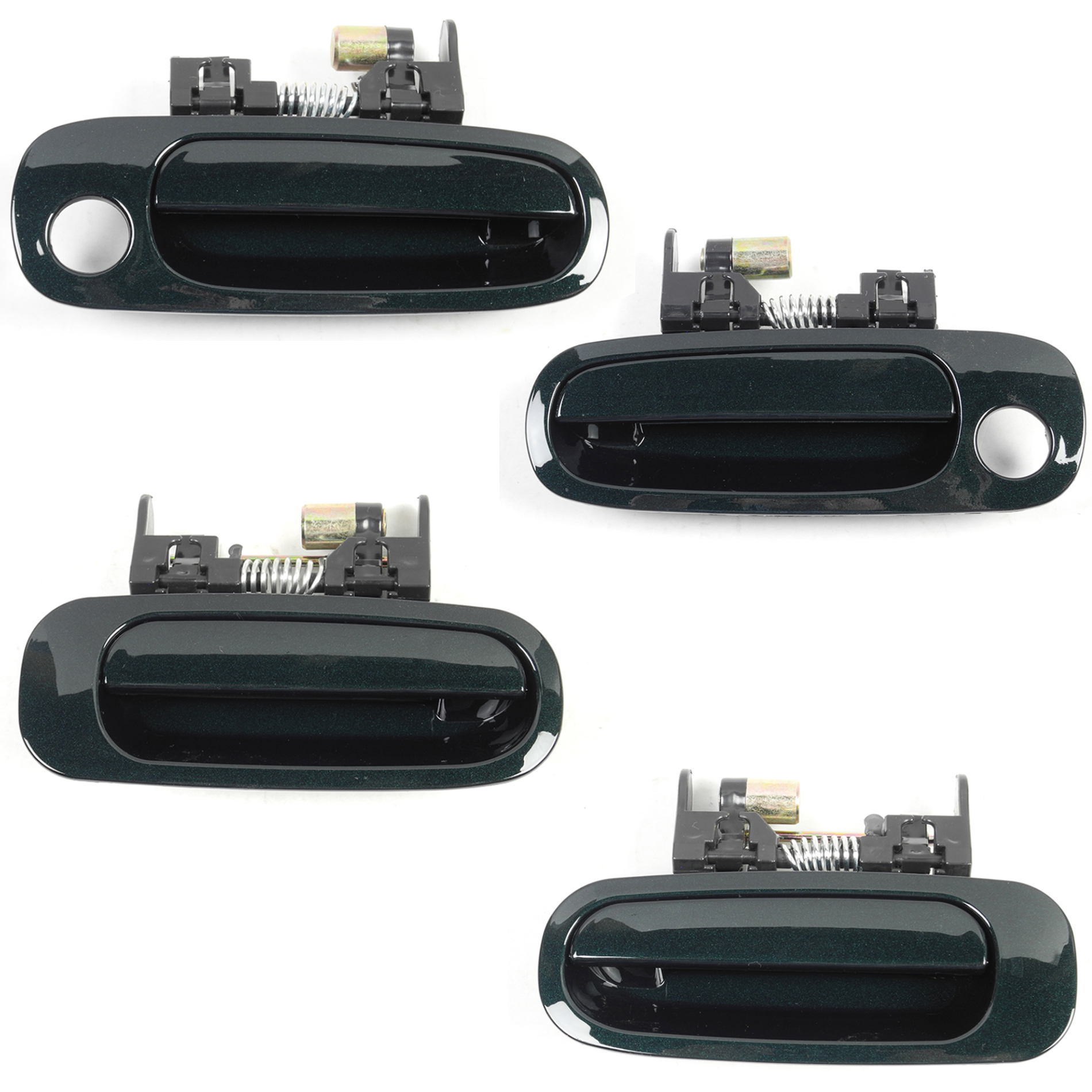 hight resolution of details about for 98 02 toyota corolla chevrolet prizm outside door handle f r green 6r1 ds318