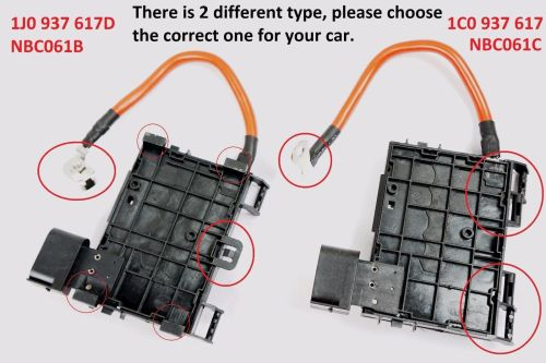 small resolution of for vw beetle bora jetta golf mk4 hi temp fuse box w cable wire connector