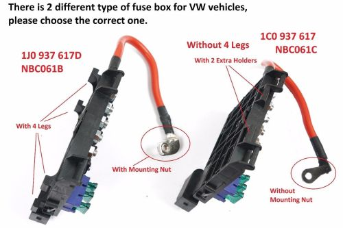 small resolution of for vw beetle bora jetta golf mk4 hi temp fuse box w cable wire connector fb02