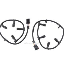 details about 2004 10 ford e350 e450 f250 f350 6 0l diesel glow plug harness right left set [ 1600 x 1600 Pixel ]