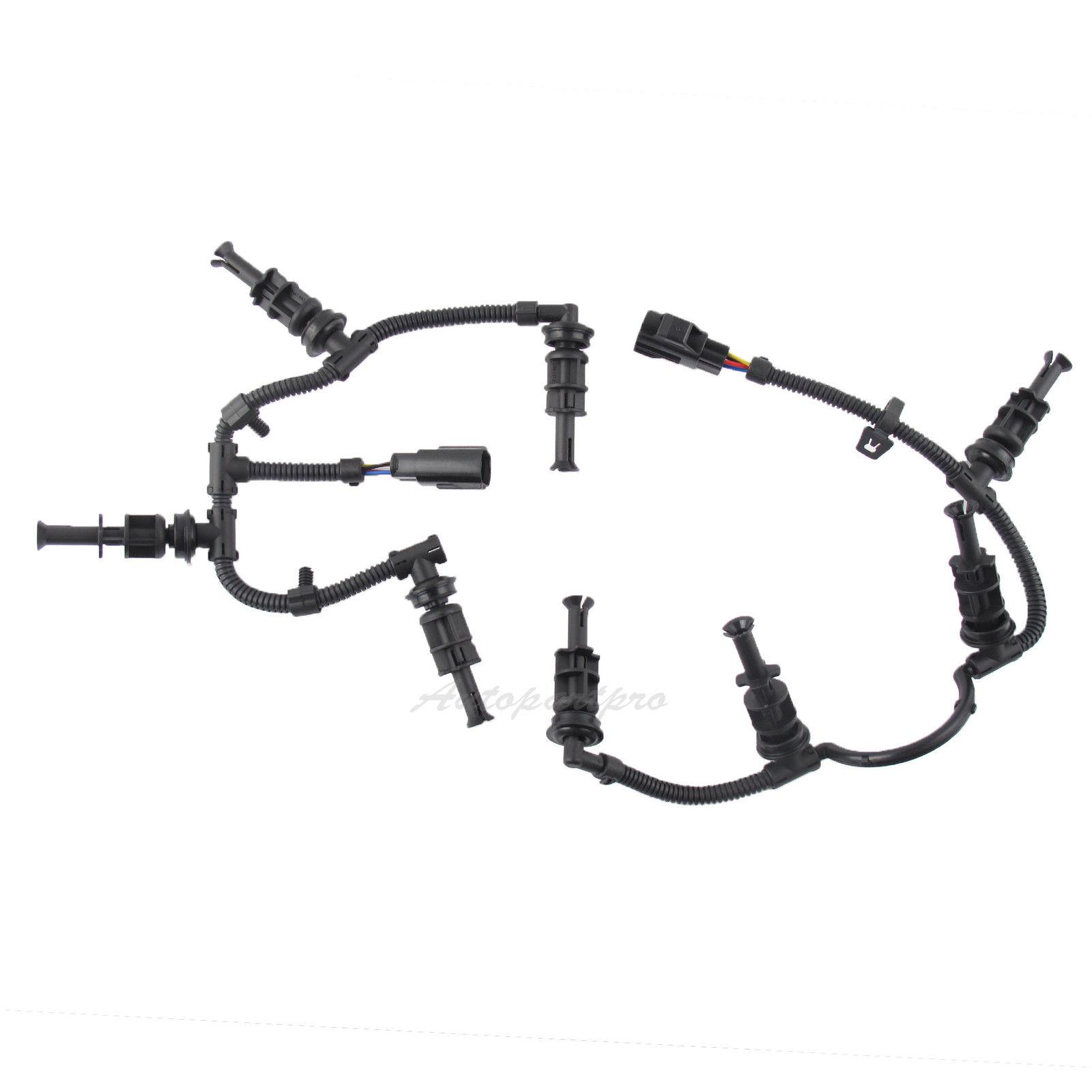 2008-2010 Ford F350 6.4L Powerstroke Glow Plug Wiring