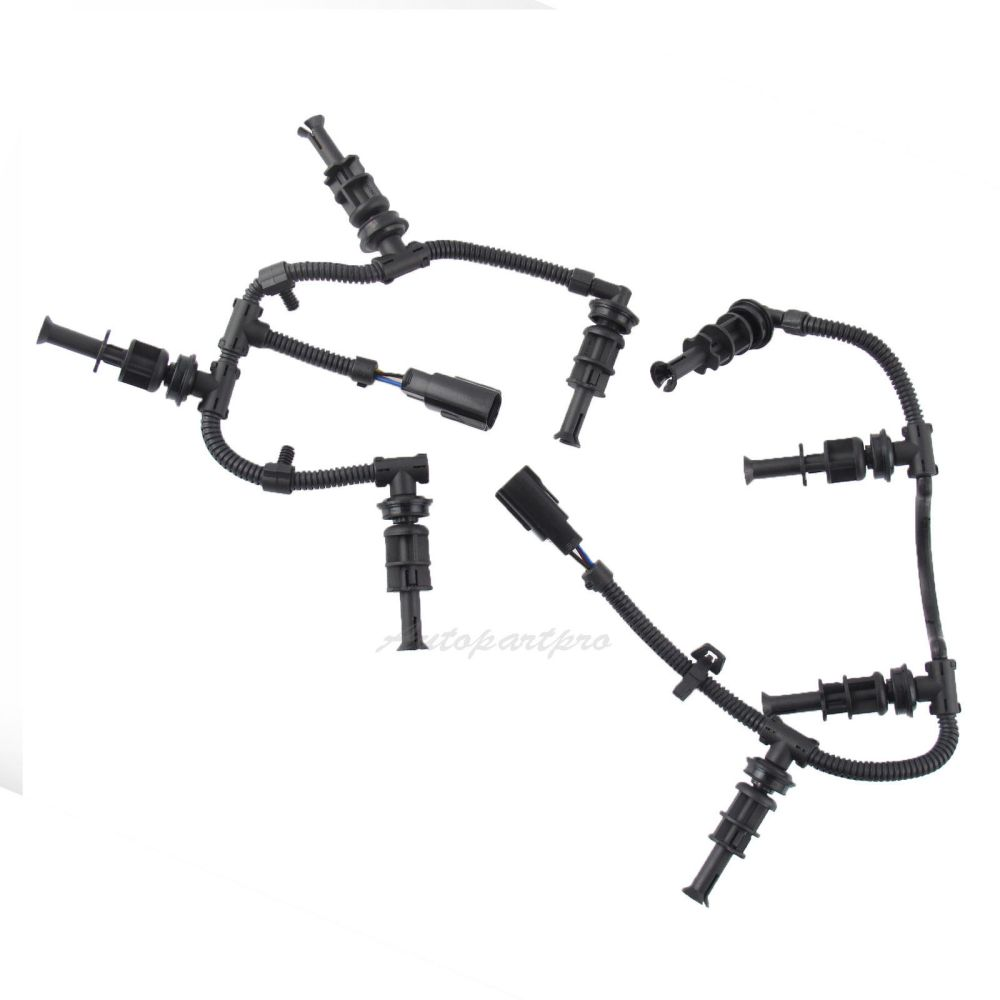medium resolution of details about 2008 2010 ford f350 6 4l powerstroke glow plug wiring harnesses right left