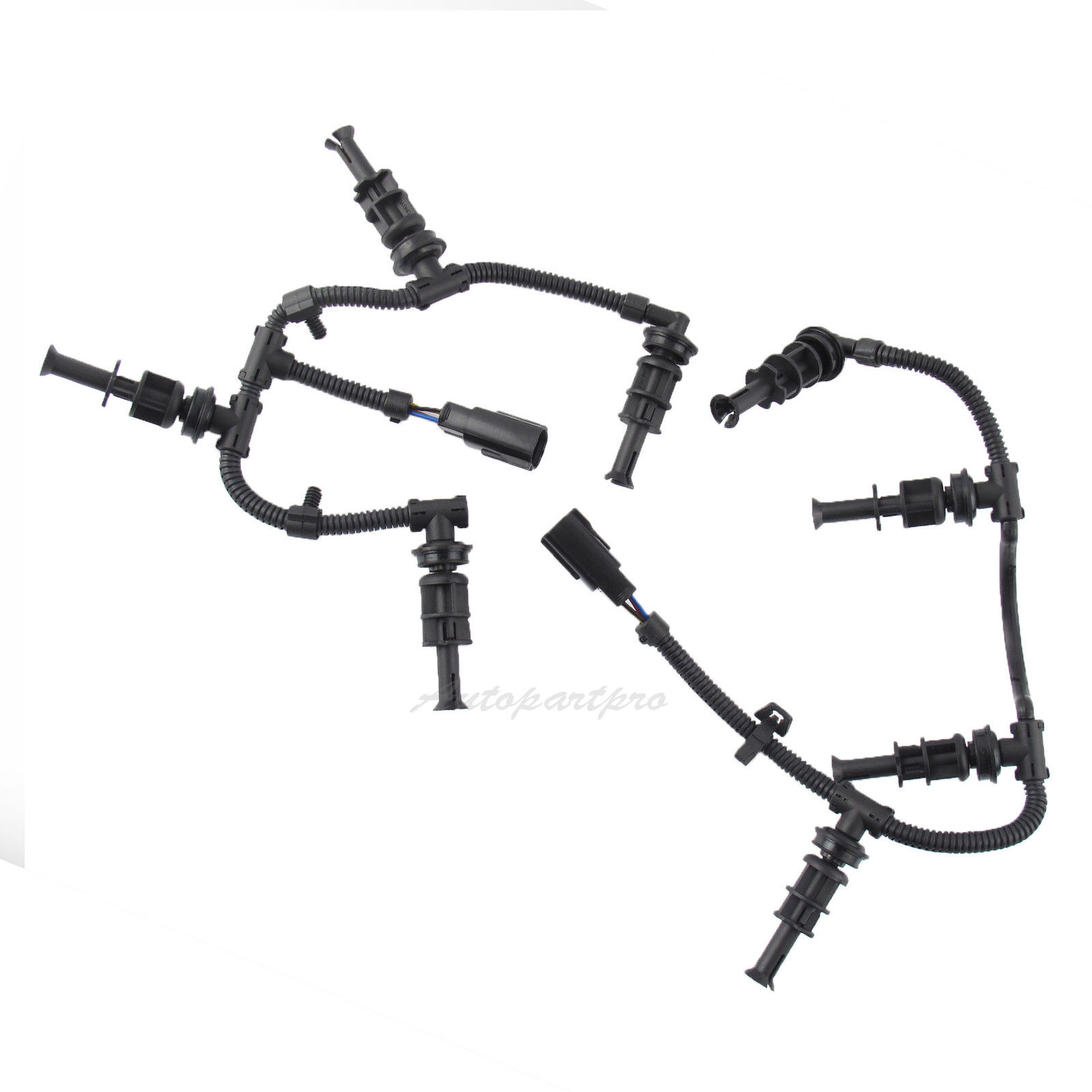 hight resolution of details about 2008 2010 ford f350 6 4l powerstroke glow plug wiring harnesses right left