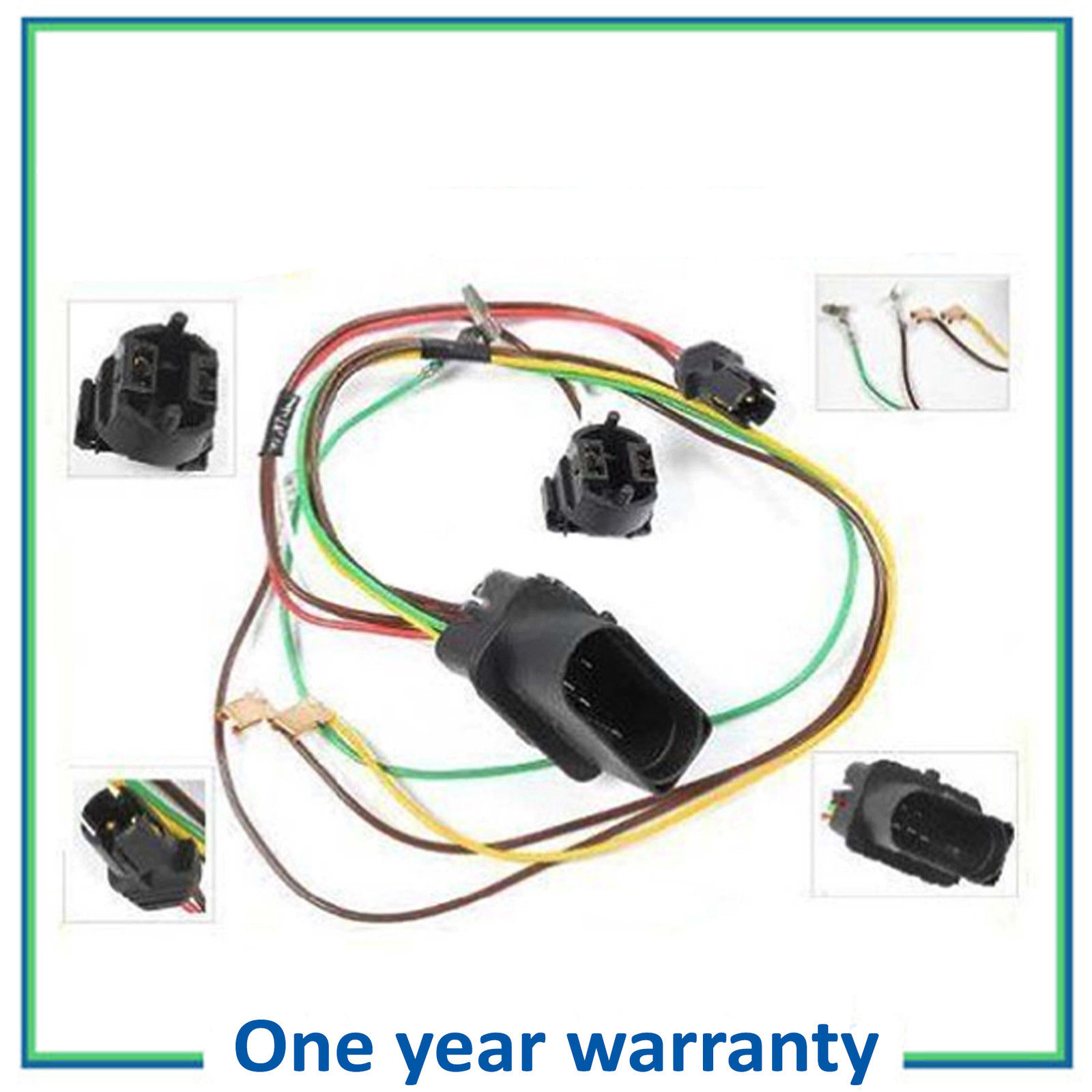 hight resolution of details about right headlight head lamp wiring harness connector for repair kit vw passat